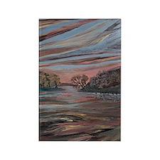 Mississippi River Rectangle Magnet (100 pack)