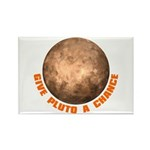 Give Pluto a Chance Rectangle Magnet (100 pack)
