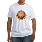 Give Pluto a Chance Fitted T-Shirt