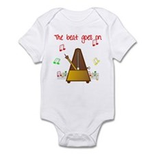 The Beat Goes On Infant Bodysuit