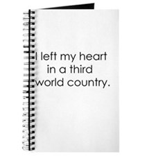 Left my heart Journal