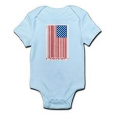 Barcode Flag Infant Creeper