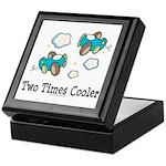 Cooler Twin Boys Airplane Keepsake Box