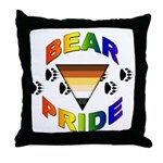 Bear Pride Throw Pillow