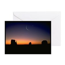 Ramadan Moon & Venus Greeting Cards (Pk of 20)