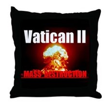 V2 Mass Destruction Throw Pillow