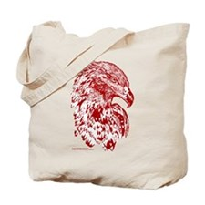 Wedge Tailed Eagle Bold Ochre Tote Bag