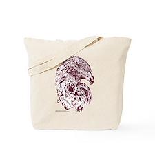 Wedge Tailed Eagle Bold Sepia Tote Bag