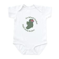 An Island Divided Infant Bodysuit