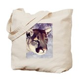 `Miss Mountain Lion' Tote Bag