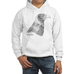 Wedge Tailed Eagle Fine Hooded Sweatshirt