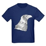 Wedge Tailed Eagle Fine Kids Dark T-Shirt