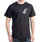 Wedge Tailed Eagle Fine Dark T-Shirt