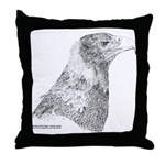 Wedge Tailed Eagle Fine Throw Pillow