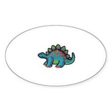 Dinos R Us Oval Decal