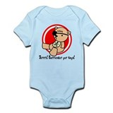Surrender Yer Toys Pirate Infant Bodysuit
