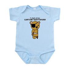 Captain Teddysword Infant Bodysuit