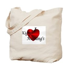 I Love Kiger MustangsTote Bag