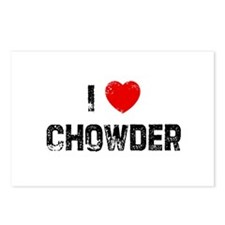I * Chowder Postcards (Package of 8)