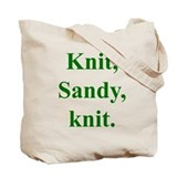 Sandy Knits Tote Bag