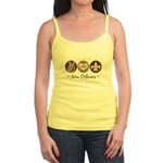 Peace Love New Orleans Jr. Spaghetti Tank
