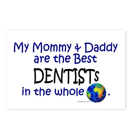 Best Dentists In The World Postcards (Package of 8