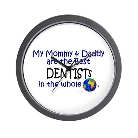 Best Dentists In The World Wall Clock