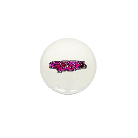 Geek Mini Button (100 pack)