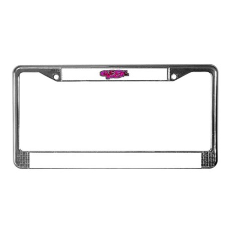 Geek License Plate Frame