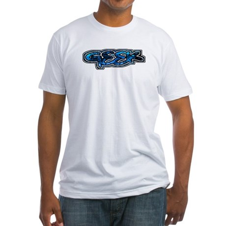 Geek Fitted T-Shirt