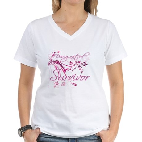 Designated Survivor Women's V-Neck T-Shirt