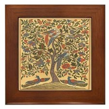 The Tree of Life Framed Tile