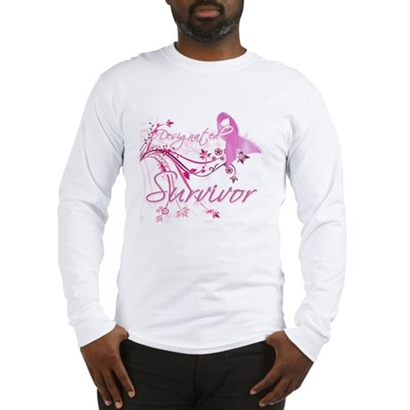 Pink Ribbon Survivor Long Sleeve T-Shirt
