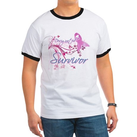 Pink Ribbon Survivor Ringer T