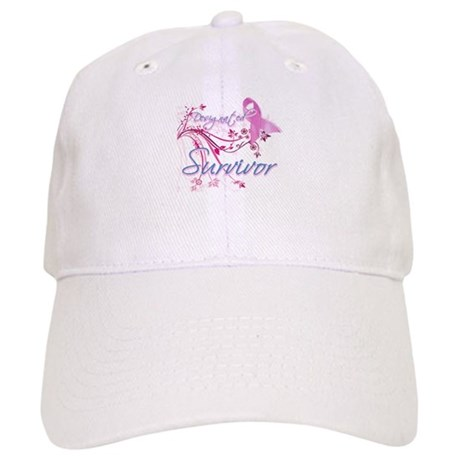 Pink Ribbon Survivor Cap