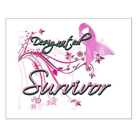 Pink Ribbon Survivor Small Poster