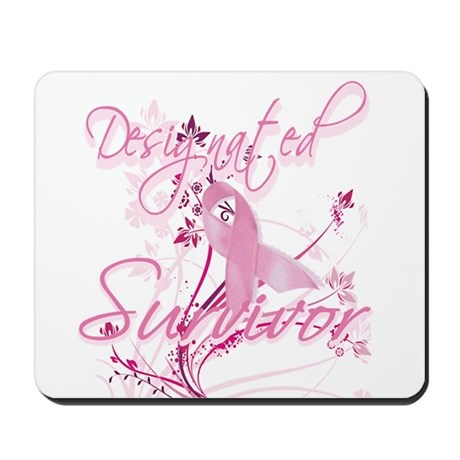 Pink Ribbon Survivor Mousepad