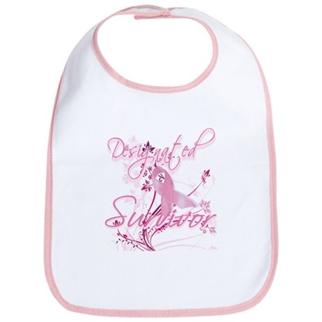Pink Ribbon Survivor Bib