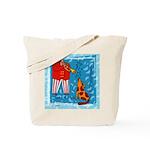 Trumpet Player Music Tote Bag
