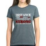 Feeds the strong: Army Girlfr Tee