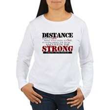 Feeds the strong: Army Fiance T-Shirt