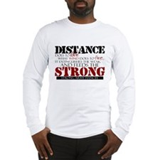Feeds the strong: Army Fiance Long Sleeve T-Shirt