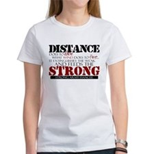 Feeds the strong: Army Fiance Tee