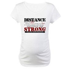 Feeds the strong: Army Fiance Shirt