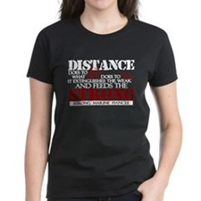 Feeds the strong: USMC Fiance Tee