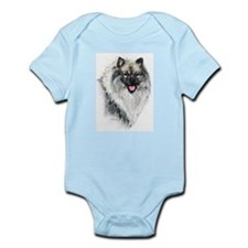 Keeshond #2 Infant Creeper