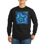 Fractal S~11 Long Sleeve Dark T-Shirt