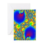 Fractal R~07 Greeting Card