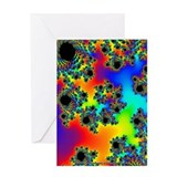 Fractal R~10 Greeting Card