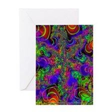 Fractal C~14 Greeting Card